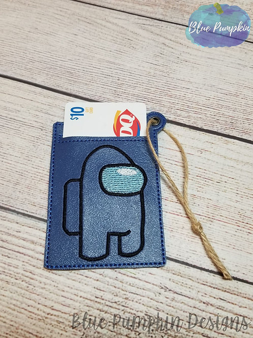 Among Gift Card Holder