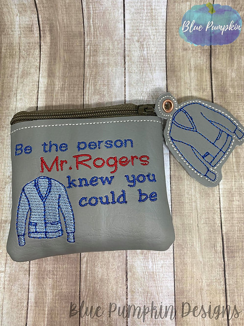 4x4 Be the Person Mr Rogers ITH Bag Design