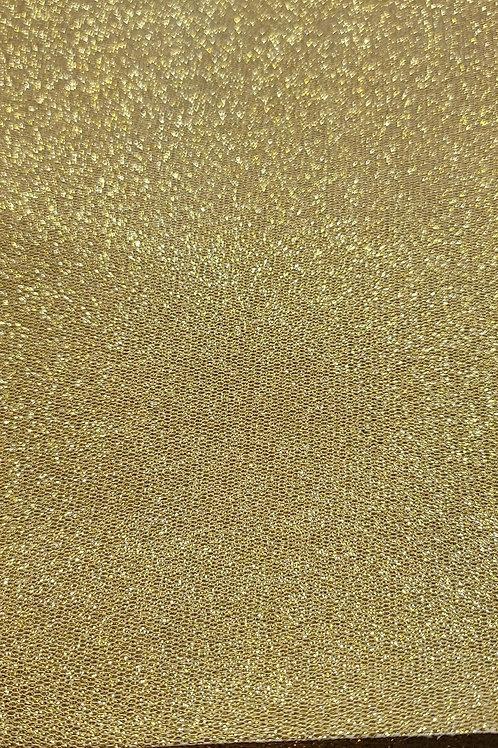 Gold Honeycomb Embroidery Vinyl