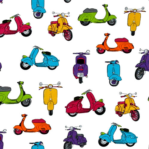 Scooters Embroidery Vinyl