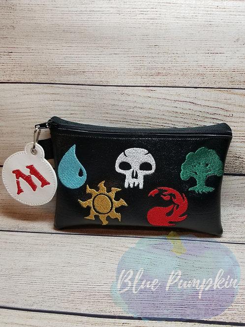 Magic the Gathering ITH Zipper Bag Design