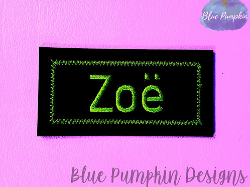 Simple ITH Name Tag