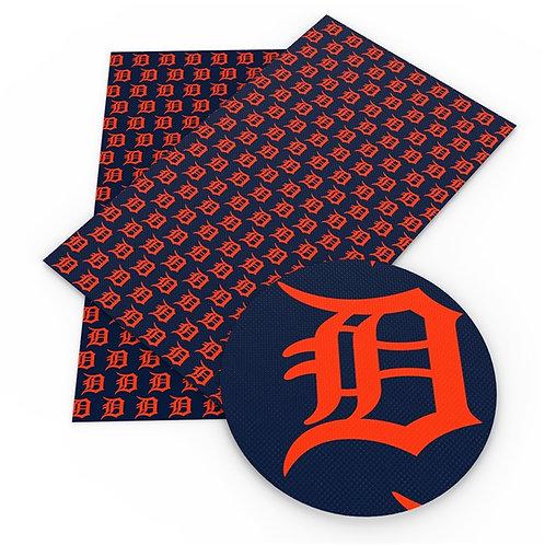 Dark Detroit Print Embroidery Vinyl