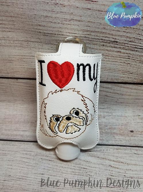 2oz Shih Tzu Love Sani Bottle Holder