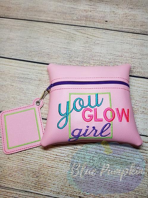 You Glow Girl ITH Zipper Bag Design