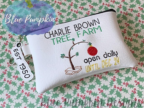 5x7 CBrown Tree Farm ITH Bag Design