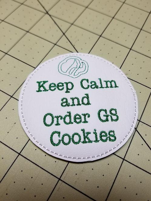 Keep Calm Cookie PIN