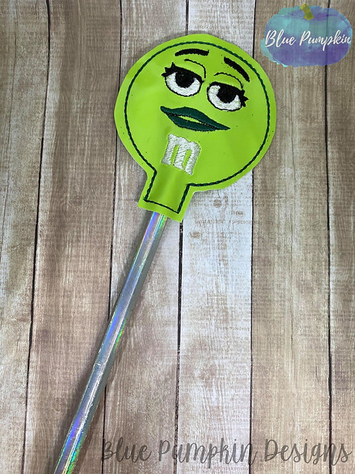 Green Candy Pencil Topper