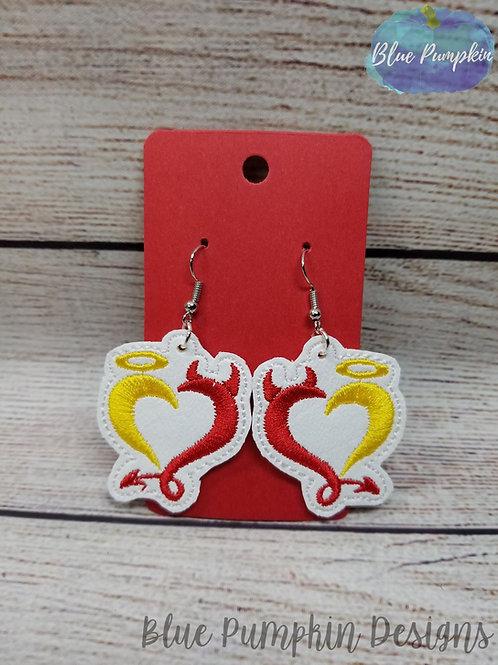 Devil Angel Earrings