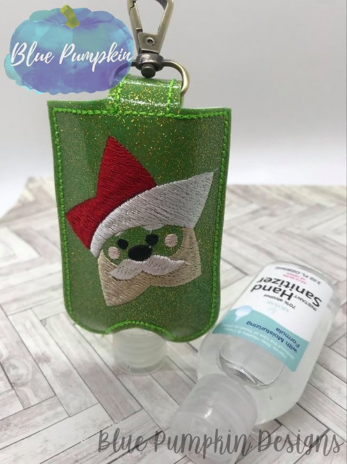 2oz Santa Star Sani Bottle Holder