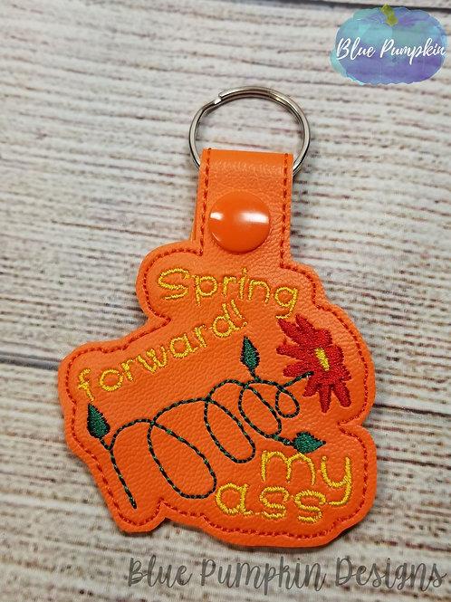 Spring Forward Key Fob