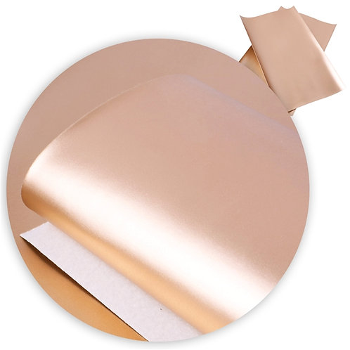 Shiny Rose Gold Embroidery Vinyl