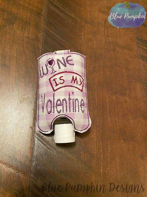 2oz Wine is Valentine Sani Bottle Holder