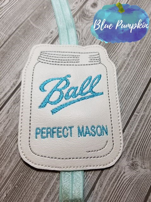 Ball Mason Jar Planner Band
