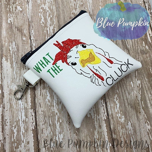 What the Cluck 5x5 ITH Bag Design