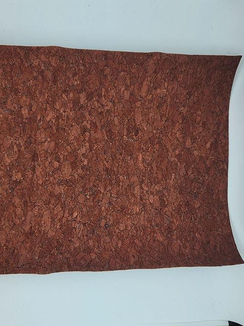 Brown Thin Cork Embroidery Vinyl