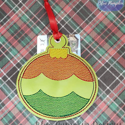 Christmas Ornament and Gift Card Holder