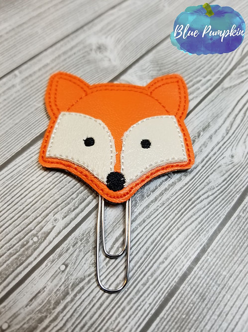 Fox Paper Clip Toppers