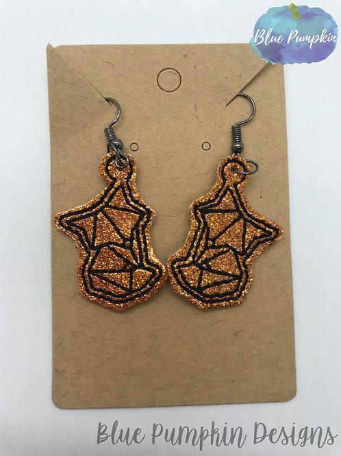 Geo Fox Earrings
