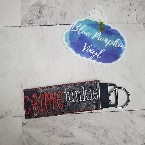 Crime Junkie Vinyl Wristlet Key Fob 5x7