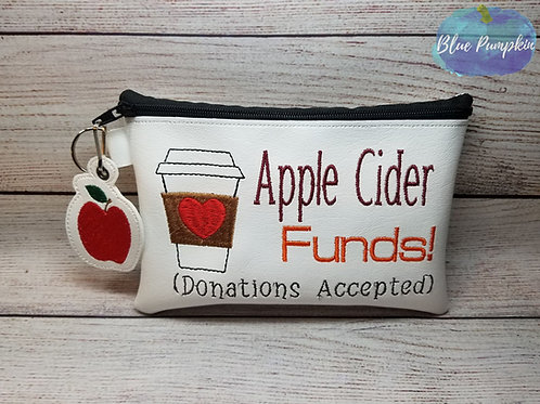 Apple Cider ITH Bag Design