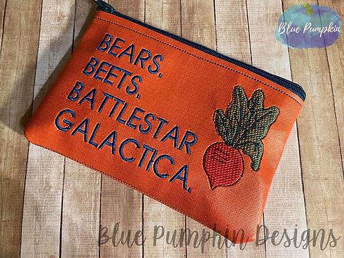 Beets Bears ITH Bag Design