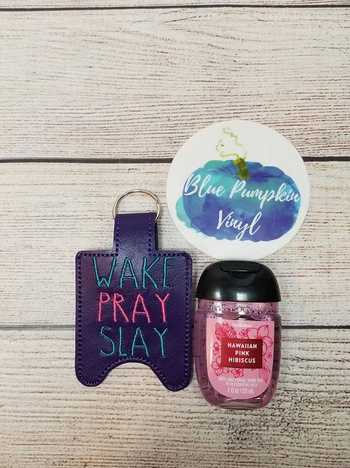 1oz Wake Pray Slay Sani Bottle Holder