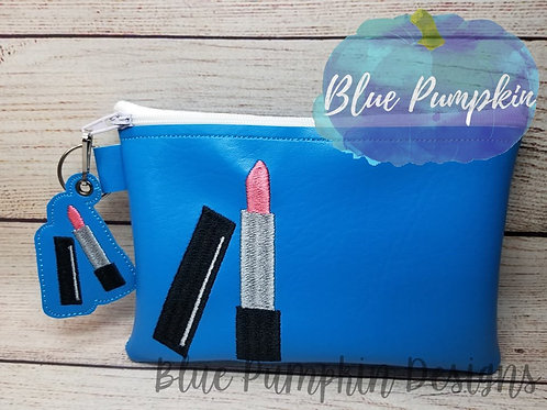 Lipstick 5x7 ITH Bag Design