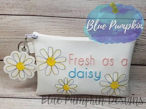 Fresh as Daisy 5x7 ITH Bag Design