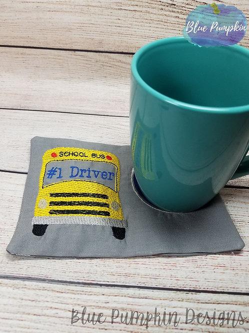 #1 Bus Driver Mug/Snack Mat