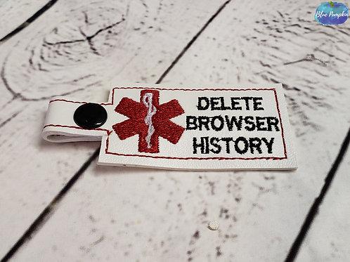 Medical Alert Browser History Key Fob