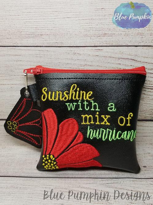 Sunshine Hurricane 5x5 ITH Bag Design