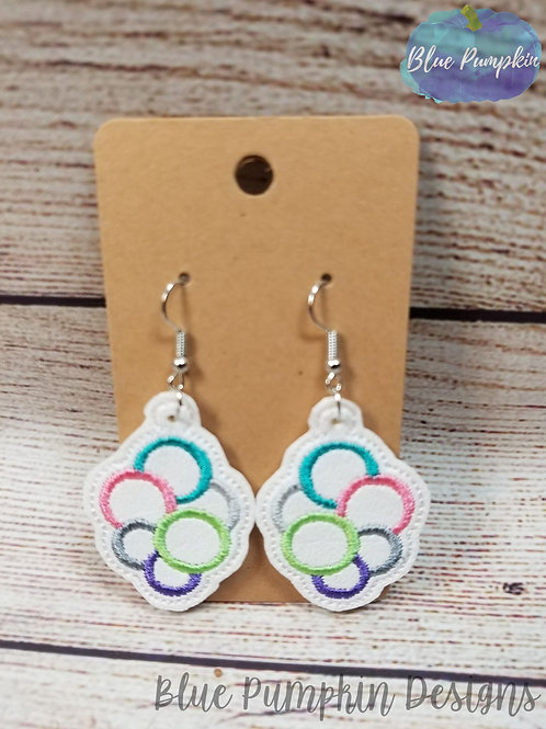 6 Circles Earrings