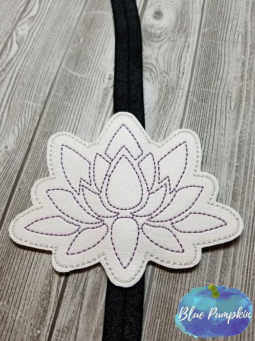 Outline Lotus Flower Planner Band