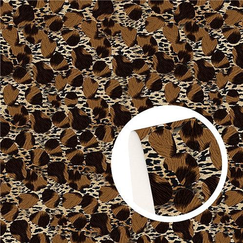 Big Cheetah Embroidery Vinyl