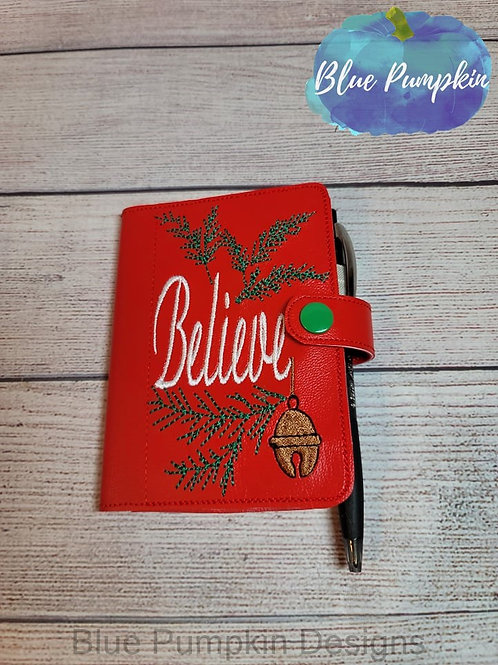 5x7 Believe Mini Comp ITH Notebook Cover