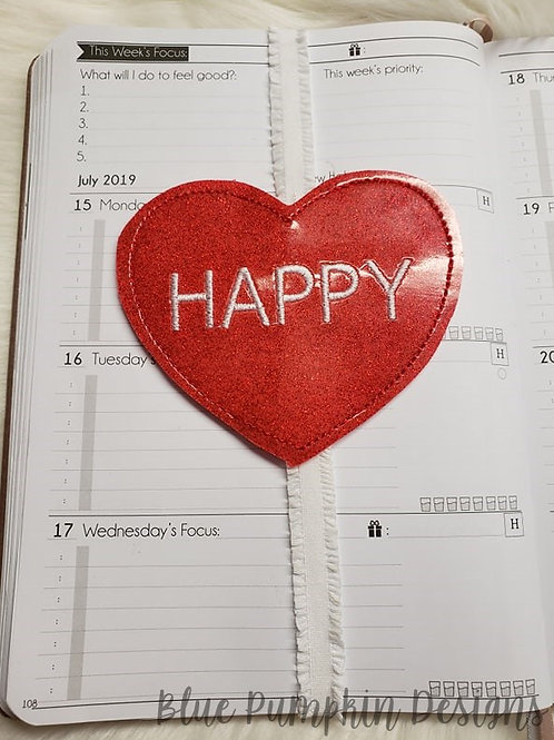 Happy Heart Planner Band
