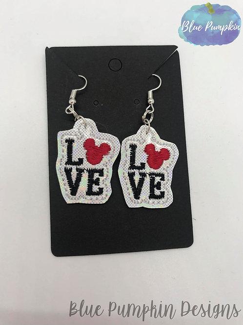 Love Mouse Earrings