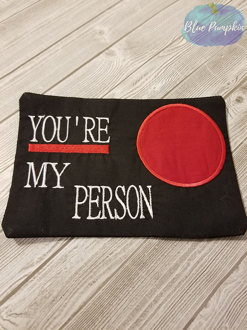 You're my Person Grey's Line Mug/Snack Mat