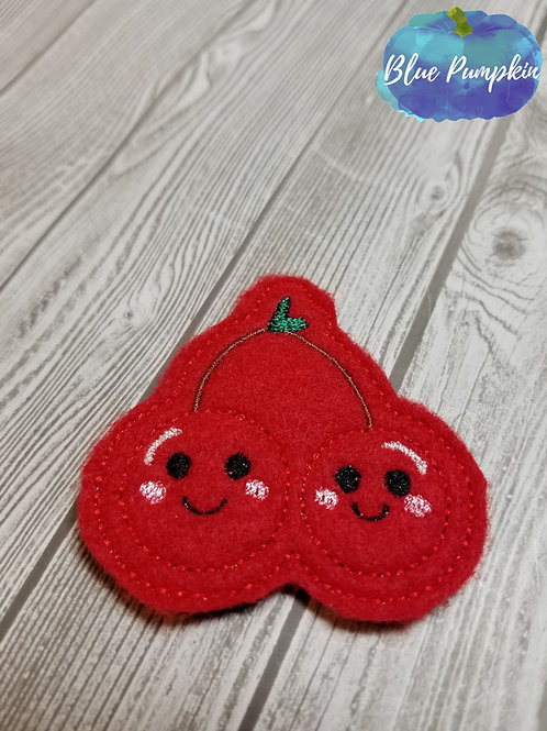 Smiling Cherries Felties