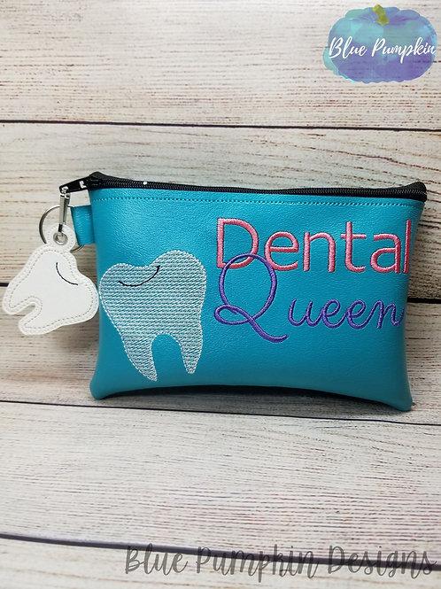 Dental Queen ITH Zipper Bag Design