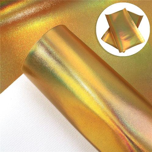Iridescent Gold Embroidery Vinyl