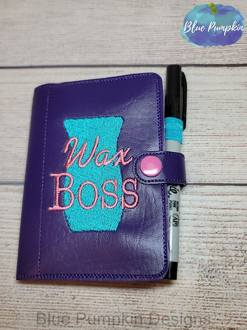 5x7 Wax Boss Mini Comp ITH Notebook Cover