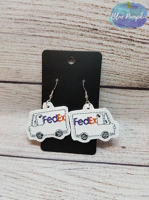 Ex Truck Earrings