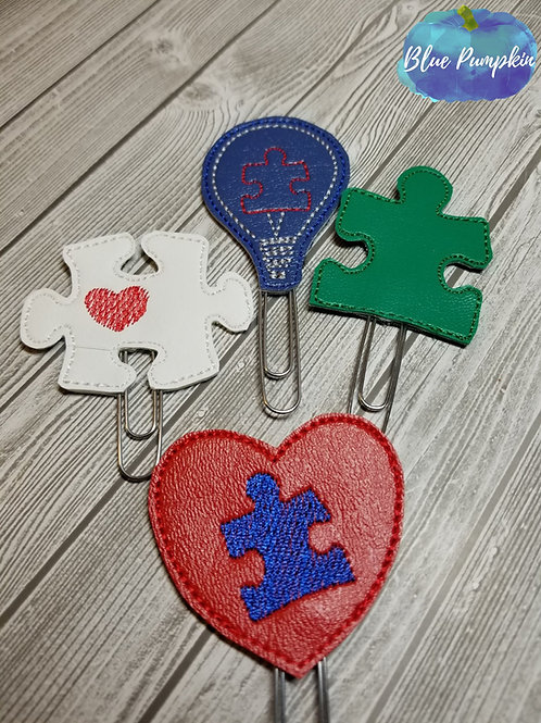 Autism Paper Clip Toppers