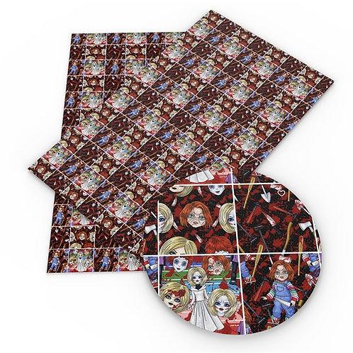 Chuck Bride Squares Embroidery Vinyl