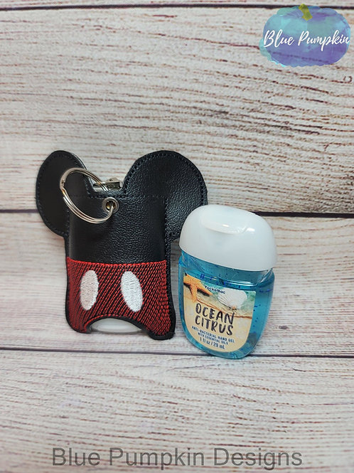 4x4 Mouse w Pants 1oz  Sani Bottle Holder