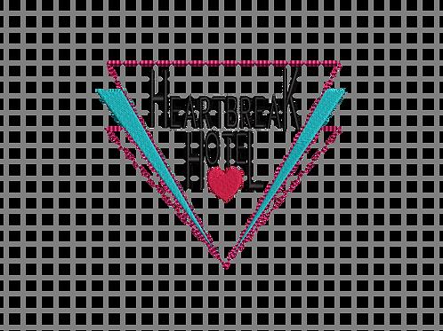 Heartbreak Hotel 5x7 Design