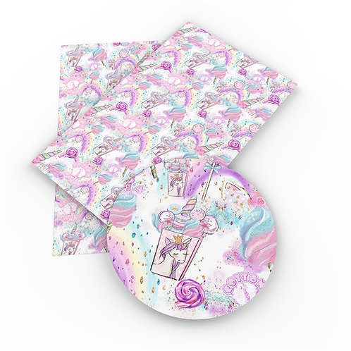 Unicorn Candy and Drink Embroidery Vinyl