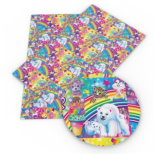 Frank Polar Bears Embroidery Vinyl